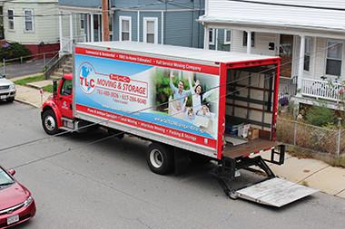 TLC Moving truck Boston MA